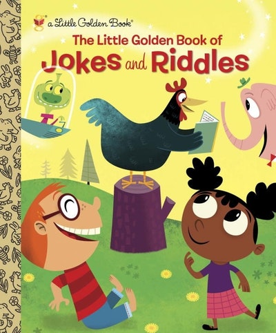 LGB The Little Golden Book Of Jokes And Riddles