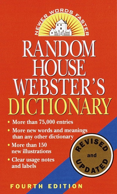 Rh Webster's Dictionary 4th Edn