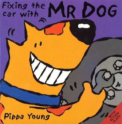 Fixing The Car With Mr Dog
