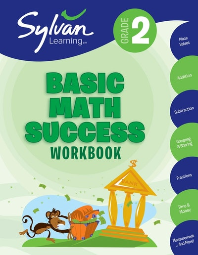 2nd Grade Basic Math Success Workbook