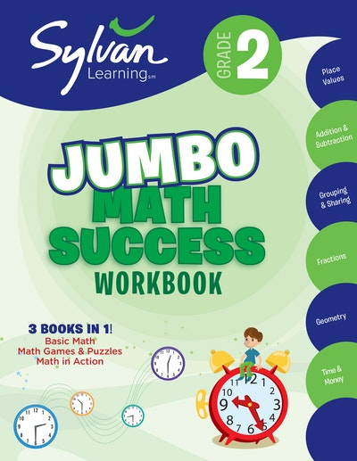2nd Grade Jumbo Math Success Workbook