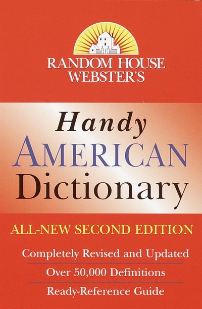 Rh Webster's Handy American Dictionary 2nd Edition