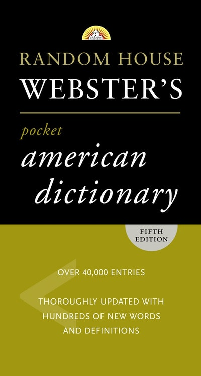 Rh Webster's Pocket American Dictionary, Fifth Edition