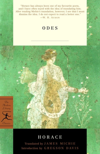 Mod Lib Odes By Horace