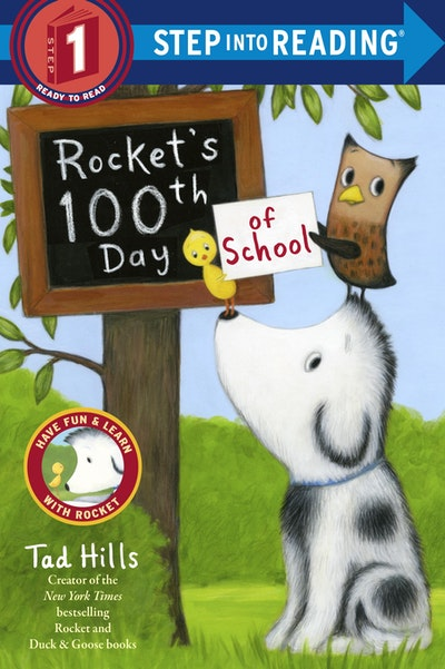 Rocket's 100th Day Of School Step Into Reading Lvl 1