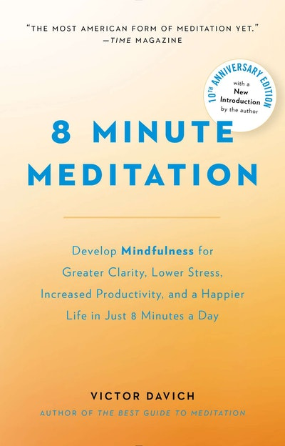 Book Cover:  8 Minute Meditation Expanded