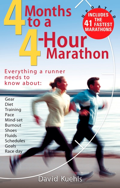Book Cover:  4 Months to a 4-hour Marathon Updated