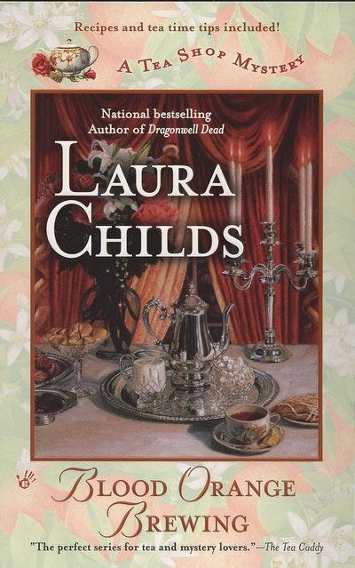 Blood Orange Brewing: A Tea Shop Mystery Book 7
