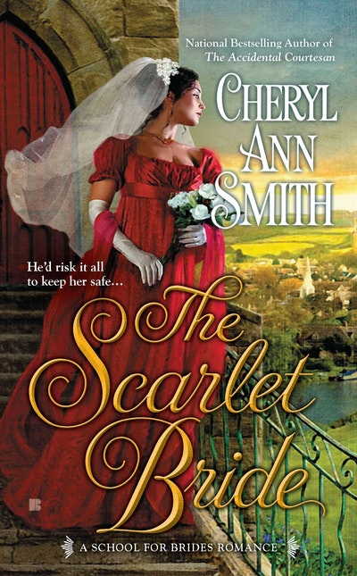 The Scarlet Bride: School for Brides Book 3
