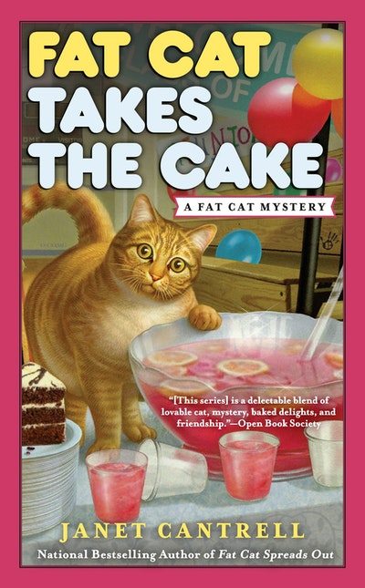 Fat Cat Takes the Cake: Fat Cat Mystery Book 3