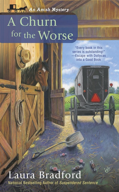 A Churn for the Worse: Amish Mystery Book 5
