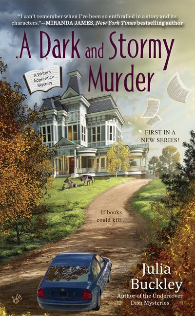 A Dark and Stormy Murder: A Writer's Apprentice Mystery