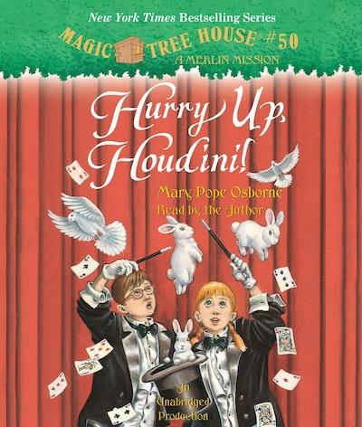 CD: Magic Tree House #50: Hurry Up, Houdin!