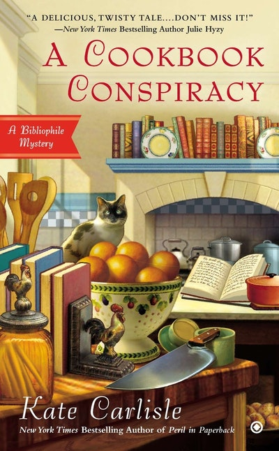 A Cookbook Conspiracy: A Bibliophile Mystery Book 7