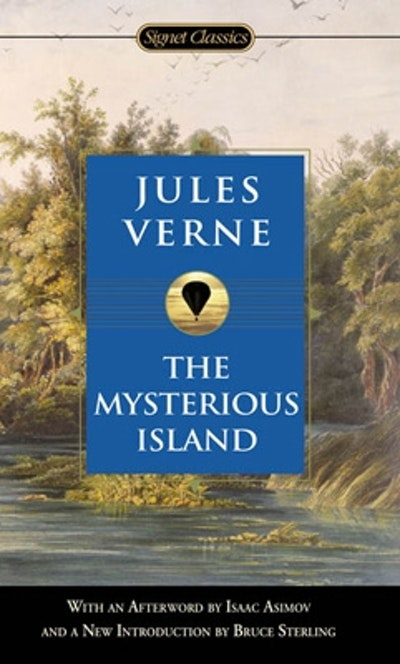 Book Cover:  Mysterious Island