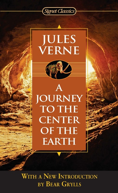 Book Cover:  Journey to the Center of the Earth