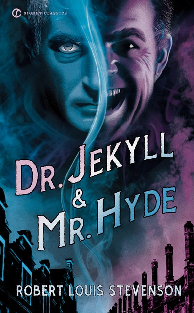 Book Cover:  Dr Jekyll and Mr Hyde (includes essay by Nabokov)
