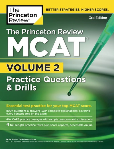 The Princeton Review McAt, 3rd Edition, Volume 2