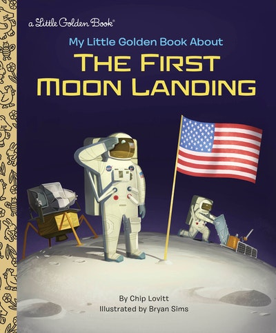 LGB My Little Golden Book About The First Moon Landing