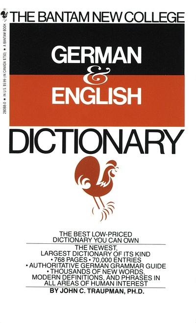 Bantam German/English Dictionary