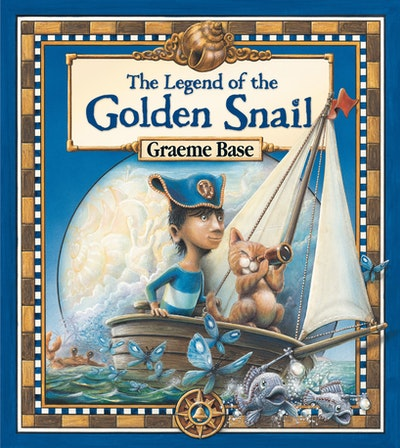 Book Cover: The Legend of the Golden Snail