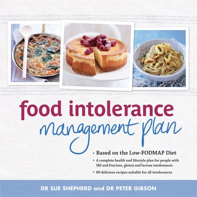 Book Cover:  Food Intolerance Management Plan