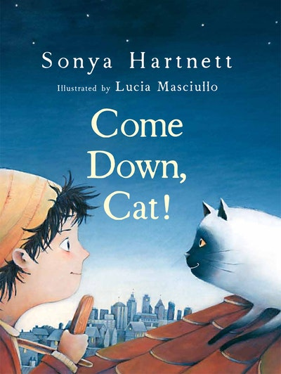 Book Cover:  Come Down, Cat!