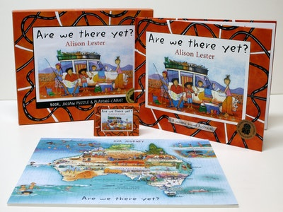 Book Cover:  Are We There Yet? Gift set