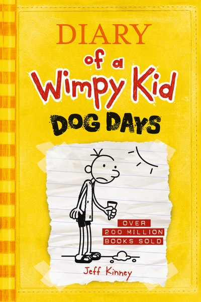 Dog Days: Diary Of A Wimpy Kid (Bk4)