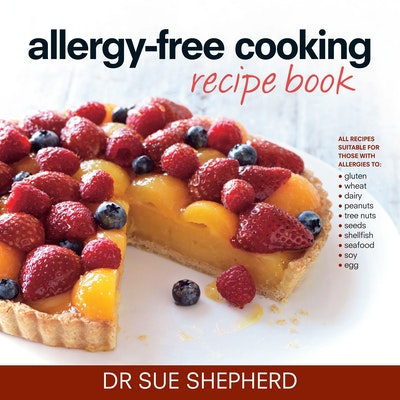 Book Cover:  Allergy-free Cooking Recipe Book