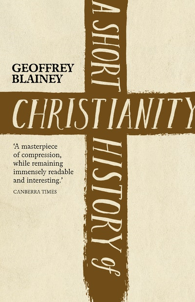 Book Cover:  Short History Of Christianity, A