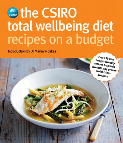 Book Cover:  CSIRO Total Wellbeing Diet Recipes on a Budget