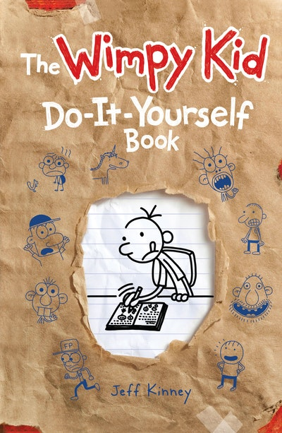 Book Cover:  Do-it-Yourself Volume 2: Diary of a Wimpy Kid