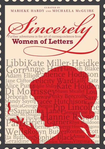 Book Cover:  Sincerely: Women of Letters