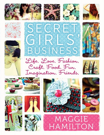 Book Cover:  Maggie Hamilton's Secret Girl's Business