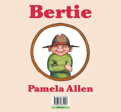 Book Cover:  Bertie