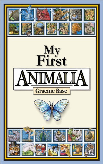 Book Cover:  My First Animalia