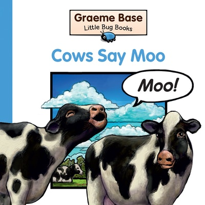 Book Cover:  Little Bug Books: Cows Say Moo