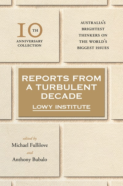 Book Cover:  Reports from a Turbulent Decade