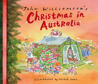 Book Cover:  John Williamson's Christmas in Australia