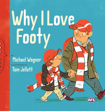 Book Cover:  Why I Love Footy
