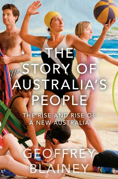 Book Cover: The Story of Australia's People v2