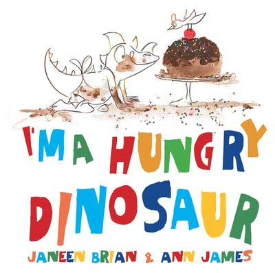 Book Cover:  I'm a Hungry Dinosaur