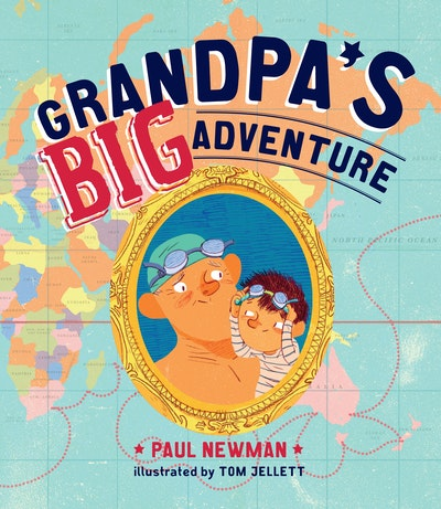 Book Cover:  Grandpa's Big Adventure