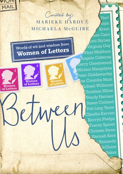 Book Cover:  Between Us: Women of Letters