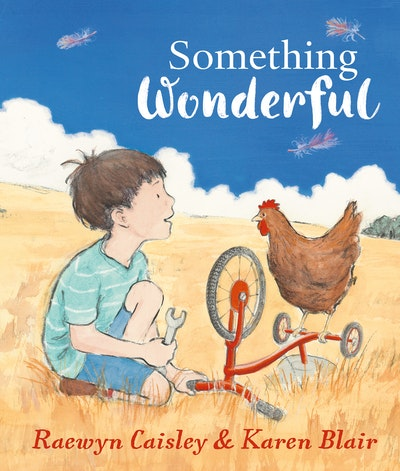 Book Cover:  Something Wonderful
