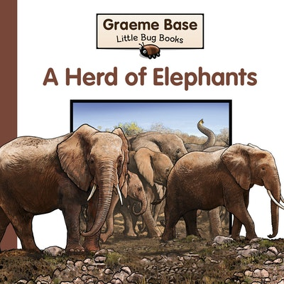 Book Cover:  Little Bug Books: Herd of Elephants