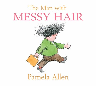 Book Cover: The Man With the Messy Hair