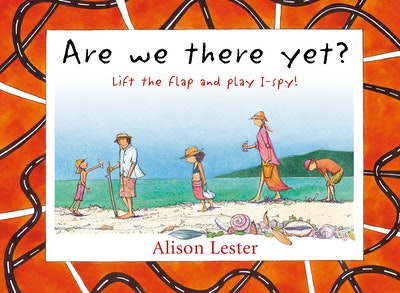 Book Cover:  Are We There Yet? Lift the flap and play I-spy!
