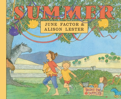 Book Cover:  Summer